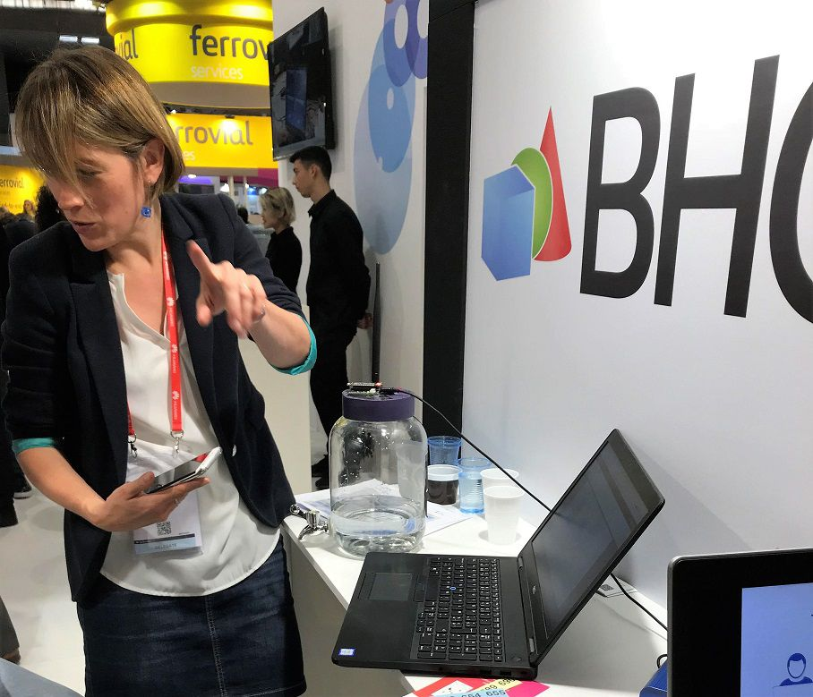 Stand BHC au salon Smartcities à Barcelone